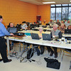 James Neiss/staff photographerNiagara Falls, NY - AARP Tax-Aide Program local coordinator Ken Greulich trains volunteers in preparation for this years free tax assistance at local senior centers and libraries starting Feb. 1. The service is free and appointments can be made by calling the individual locations that include: The John Duke Senior Center on Monday, Tuesday, Wednesday and Friday; the Lewiston Library on Tuesdays; the Lewiston Senior Center on Fridays; the Wilson Free Library on Monday's and the Grand Island Senior Center on Monday's, said Greulich.