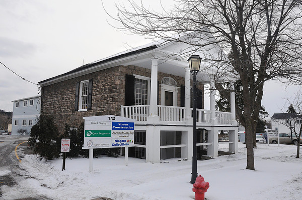 James Neiss/staff photographerLewiston, NY - The building at 755 Center Street in Lewiston, may reopen as a wine bar.