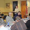 James Neiss/staff photographerLewiston, NY - AARP Instructor Connie Walmsley teaches the AARP Driver Safety Course at the Lewiston Senior Center on Friday. The refresher course qualifies those attending for a break on their drivers insurance bills, she said. The next class dates are on Feb. 23 & 24 and March 8 & 9, starting at 1 p.m. Those wishing to attend should call 754-2071 for a reservation.
