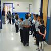 James Neiss/staff photographerTown of Niagara, NY - Students change classes at the Niagara Charter School.