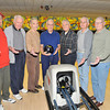 James Neiss/staff photographerNiagara Falls, NY - The Walsh-Wilson Retired Men's Service Club includes more than 30 bowlers in their 80s and seven bowlers age 90 and above including, from left, Andy Enterline, 92, Elmer Hiltz, 89, Guido Filicetti, 91, Kenneth Edwards, 89, Joe Cacchio, 90, Al Hewitt, 89 and Cesare Svizzero, 91.