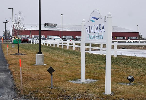 James Neiss/staff photographerTown of Niagara, NY - Niagara Charter School on Lockport Road.