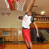 James Neiss/staff photographerNiagara Falls, NY - Niagara Catholic Basketball player Jonathan Jackson.