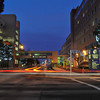 James Neiss/staff photographerNiagara Falls, NY - Niagara Falls memorial Medical Center is sprucing up 10th street and making it a little more festive by adding some permanent tree lighting.