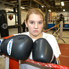James Neiss/staff photographerNiagara Falls, NY - Golden Gloves boxer Brianna Smith of Wheatfield practices at Casal's Boxing Club on Maryland Avenue for the Golden Gloves boxing tournament at the Burt Flickenger Center in Buffalo on Saturday.