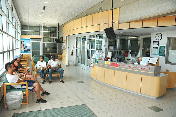 James Neiss/staff photographerLewiston, NY - It's business as usual in the Mount St. Mary's Emergency Room lobby. Mount St. Mary's was ranked in the top 10 safest hospitals by Consumer Reports.