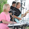 James Neiss/staff photographerNiagara Falls, NY - Kathy Lynn and the Playboys entertain a crowd at Columbus Square Park on Pine Avenue as part of the Pine Avenue Business Association Summer Concert Series, sponsored in part by the Niagara Gazette. Thursday's show was sponsored by Niagara County Legislator Dennis Virtuoso.