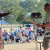 James Neiss/staff photographerNiagara Falls, NY - Spectators applaud the band Reflector at Gill Creek Park during Concerts in the Park 2012, sponsored by the Niagara Street Area Business and Professional Association. The concerts run every Wednesday through August 29.