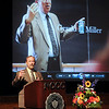 "James Neiss/staff photographerSanborn, NY - Niagara County Community College President James Klyczek says a few words about former President Gerald Miller during a gathering dubbed ""Jerry Fest: A Celebration of the Life & Legacy of Gerald L. Miller"" at NCCC."