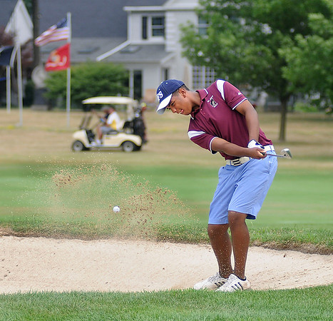 James Neiss/staff photographerLewiston, NY - North Tonawanda resident James Blackwell plays a round of golf at the Niagara Falls Country Club one day before the beginning of the 54th Annual Porter Cup.