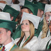 James Neiss/staff photographerLewiston, NY - Members of the class of 2012 listen to speakers at the Lewiston-Porter High School 61st Commencement at Art Park.