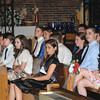 James Neiss/staff photographerLewiston, NY - St. Peter's Catholic School 8th grade Class of 2012 attend graduation ceremonies at St. Peter's Church. The school received a high ranking in WNY by Buffalo Business First.