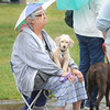 James Neiss/staff photographerNiagara Falls, NY - Determined: Pet owner Nancy Hammond came prepared for the weather and a long wait at the free Niagara County rabies clinic at the Hyde Park Oasis/Centennial Pavilions. Hundreds of pet owners showed up to get their animals vaccinated for free.