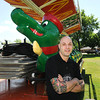 James Neiss/staff photographerLewiston, NY - Owner of the Lewiston Village Pub Ken Scibetta is the organizer for Pubfest at Academy Park Friday, Saturday and Sunday this weekend. The event opens with a ½ hour fireworks show scheduled to go off just after 10 p.m. on Friday.