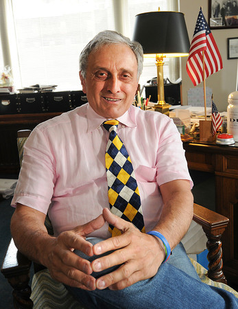 James Neiss/staff photographerBuffalo, NY - Carl Paladino at his Main Street office.