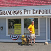 James Neiss/staff photographerLewiston, NY - Andrew Bell of Grandpaws Pet Emporium moved his business from Portage Road to Center Street on May 1.