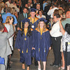 James Neiss/staff photographerNiagara Falls, NY - The Niagara Falls High School class of 2012 Valedictory Honor Graduates Fiza Batool, left, Michael LeGault, center and Senior Class Officer Lauren T. Evans lead the procession during the NFHS 12th Commencement at the Conference Center Niagara Falls.