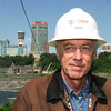 "James Neiss/staff photographerNiagara Falls, NY - O'Connell Electric General Foreman Randy Fletcher, said his job is almost done. ""We installed the cable overnight Wednesday morning and later today the anti-rotation pendulums will be installed."""