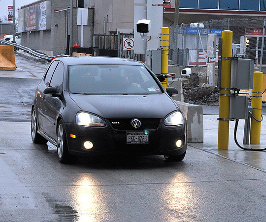 James Neiss/staff photographerQueenston, Ontario - There is a new NEXUS lane for those crossing the Lewiston - Queenston bridge into Canada.