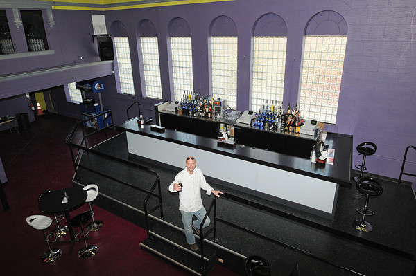 Niagara Falls,  NY - Shawn Canada, owner of the new Buffalo Avenue night club The Vault.