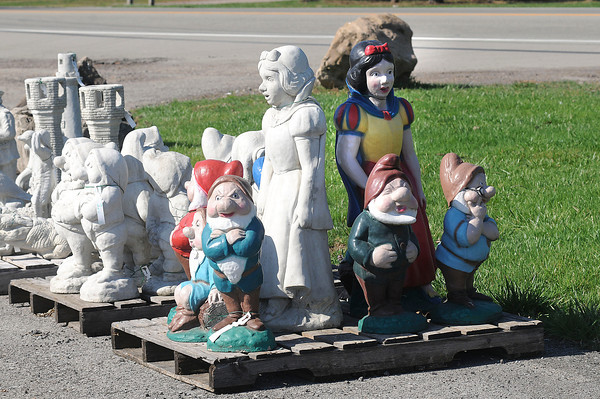 Lockport, NY - Boka Farms on Campbell Boulevard has a lot of items for the garden including a huge variety of statues.