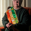 James Neiss/staff photographerNiagara Falls, NY - Kathleen Florence is the 2012 Grand Marshall of this year's St. Patrick's Day Worlds Shortest Parade hosted by the Ancient Order of of Hibernians.