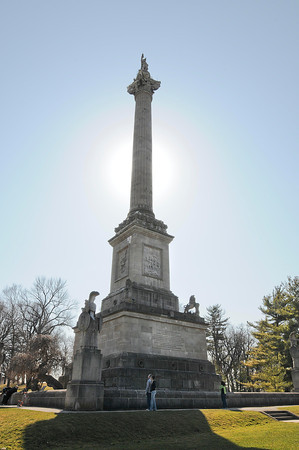 James Neiss/staff photographerQueenston Heights, Ontario - Brock's Monument is a popular tourist attraction for those visiting Niagara Falls.