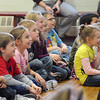 James Neiss/staff photographerWheatfield, NY - Students at St. Peter's Lutheran enjoy the production Kids Fitness Challenge, by The Theatre of Youth. The actors touched on the subjects of over indulging in eating, sleeping, playing video games and drinking sugar saturated soda pops.