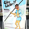 James Neiss/staff photographerNiagara Falls, NY - The Daredevil Museum is jumping on the highwire bandwagon with a couple of fun signs that allow tourists to pose as wire walkers, as did Hyung Jin of Seoul, South Korea.