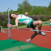 James Neiss/staff photographerLewiston, NY - Lew-Port track athlete Hailey Andrews clears the bar during a track meet against Grand Island.