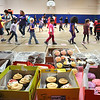 James Neiss/staff photographerNiagara Falls, NY - Students at Harry F. Abate Elementary walk a Cake Walk to raise money to benefit Relay For Life.
