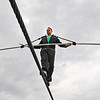 James Neiss/staff photographerNiagara Falls, NY - Daredevil Nik Wallenda continues his daily practice on the high-wire in front of the Seneca Niagara Casino & Hotel.