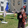 James Neiss/staff photographerNiagara Falls, NY - According to the Deep Roots Niagara Street Performers, there will be a lot of clowning around on Old Falls Street this summer. Old Falls Street USA organizers and the Hard Rock Cafe made their summer activity and concert series schedule announcements on Thursday.