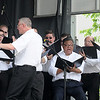 James Neiss/staff photographerNiagara Falls, NY - The Buffalo Philharmonic Chorus sing for tourists on Old Falls Street on Saturday, part of a Memorial Day Weekend concert lineup featuring 9 acts presented by Old Falls Street, USA.