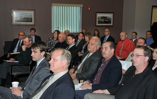 James Neiss/staff photographerSanborn, NY - It was a full house at the Niagara USA Chamber NCIDA Informational Seminar at the Vantage Center. Business people enjoyed discussions on Niagara County IDA-Marketing Initiatives, PILOT Agreements, Financing Programs and more.