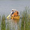 James Neiss/staff photographerNiagara Falls, NY - Eileen Watson and her husband Greg Garten enjoy Memorial Day morning canoeing on Bond Lake.
