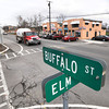 James Neiss/staff photographerSanborn, NY - Looking North on Buffalo Street in Sanborn.