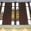 James Neiss/staff photographerNiagara Falls, NY - The congregation of the Destiny Christian Church has moved into the former Beth Israel Temple on College Avenue, where they will celebrate a grand opening at 6 p.m. sunday, Nov. 11. Some of the old Temple features remain including stained glass windows and huge tablets depicting the first letters of the 10 commandments.