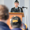 James Neiss/staff photographerNiagara Falls, NY - Niagara University political science major and ROTC Cadet James Kemnitz, 21, was the keynote speaker at the 2012 Niagara Falls Veterans Day observance at Hyde Park. Kemnitz is heading to the US Army Judge Advocate General Corp upon graduation, he said.