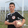James Neiss/staff photographerSanborn, NY - Niagara Wheatfield High School junior Noah Asklar, is the Niagara Gazette boys soccer Player of the Year.