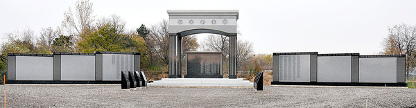 James Neiss/staff photographerNiagara Falls, NY - Niagara Falls Veterans Memorial at Hyde Park.