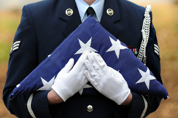 James Neiss/staff photographerSanborn, NY - Niagara County Community College honored those who serve their country during a Veterans Day Ceremony at the college.