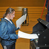 James Neiss/staff photographerNiagara Falls, NY - Kristin Janese casts her vote at St. John's on Buffalo Avenue.