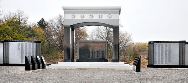 James Neiss/staff photographerNiagara Falls, NY - Niagara Falls Veterans Memorial at Hyde Park.