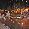 James Neiss/staff photographerNiagara Falls, NY - Old Falls Street, USA, held a street lighting ceremony for the more than 100,000 lights they hung for the holidays. Meeting with Santa and carriage rides were all part of the fun.