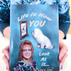 James Neiss/staff photographerLewiston, NY - Local writer Nancy Loss writes about her personal faith in her book titled Life Is How You Look At It.....