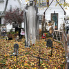 James Neiss/staff photographerNiagara Gazette, NY - Anyone daring to pass Mike and Yvonne Ridley's Pasadena Avenue home, instantly know they have the true spirit of Halloween.