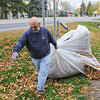 James Neiss/staff photographerNiagara Falls, NY - Larry Hasenstab was on his 5th load of leaves at his River Road home in Wheatfield. Hasenstab, said his yard is one of those places all the neighborhood leaves end up and expects to be doing this for many days to come.