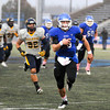 James Neiss/staff photographerAmherst, NY - UB football player #15 Derek Brim runs with the ball during the 2nd quarter of game action against Toledo.