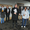"James Neiss/staff photographerNiagara Falls, NY - Meghan Miller, chair of the Niagara Organizing Alliance for Hope, Art as Action Task Force, front left, Joined by NOHA member Yvonne Taylor, right, announces the Art as Action Taskforce. The taskforce is aimed at bringing attention to the lack of responsible economic redevelopment in the East Falls district of the city. The campaign, ""Who Is Milstein?"" is taking aim at Niagara Falls Redevelopment and its sole owner and land speculator Howard Milstein, by featuring a new website  <a href=""http://www.whoismilstein.com"">http://www.whoismilstein.com</a>."